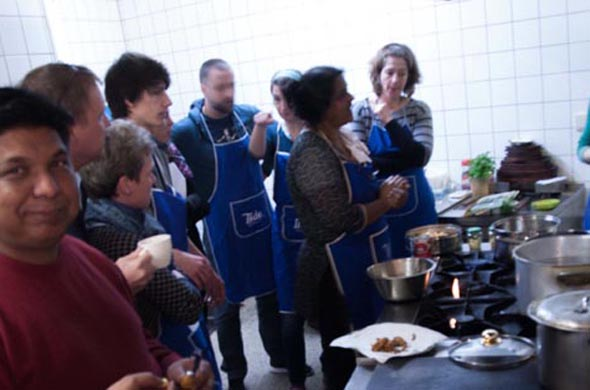 Indischer Kochkurs mit Vidya Banakar
