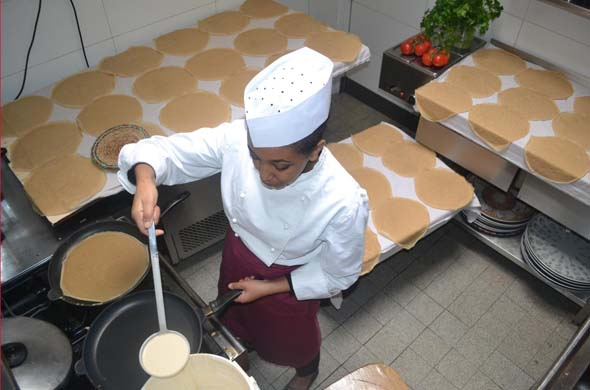 Kochkurs Äthiopien - mit Degene Kasahun
